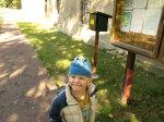 Idyllisch - der Landschaftspark Degenershausen mit Stempel für die Harzer Wandernadel